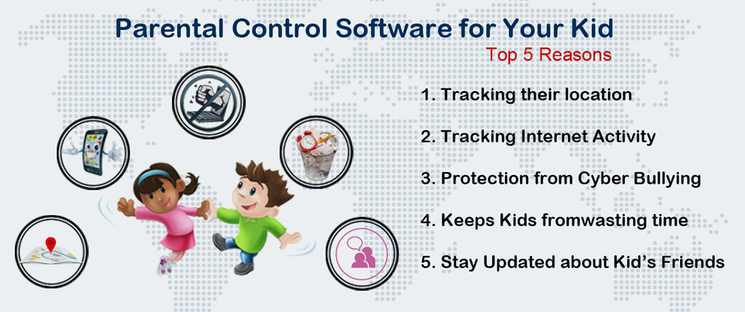 Top 5 Reasons You Need a Parental Control Software for Your Kid